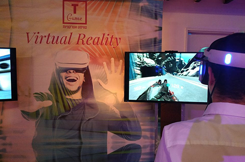 Games tables and virtual reality