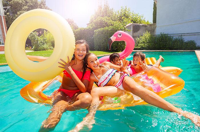 Fête de piscine